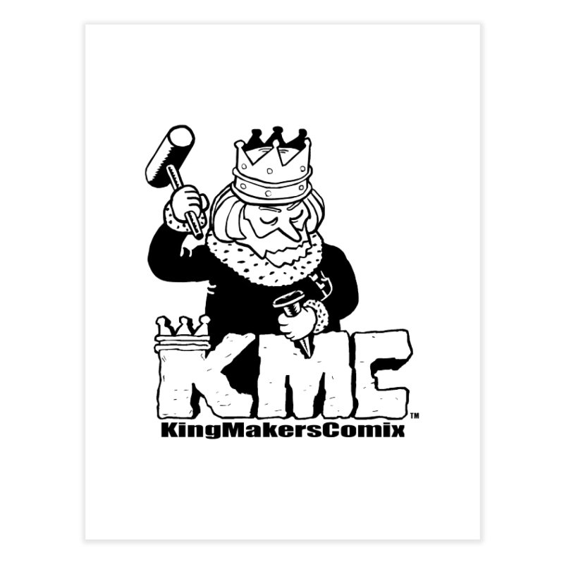 King Made Home Fine Art Print by KINGMAKERS's Artist Shop