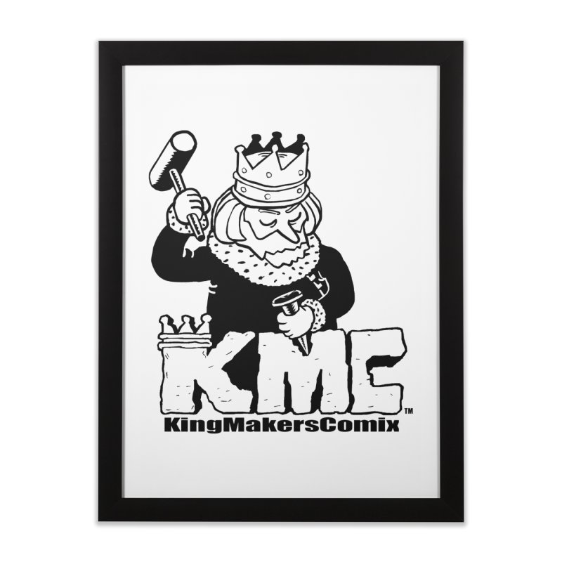 King Made Home Framed Fine Art Print by KINGMAKERS's Artist Shop