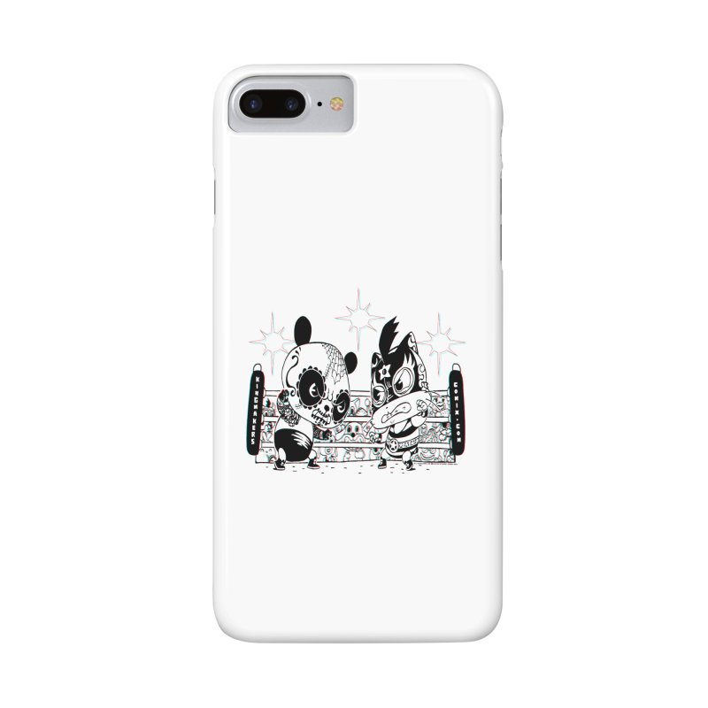 Panda Kid Vs. Mikey Accessories Phone Case by KINGMAKERS's Artist Shop