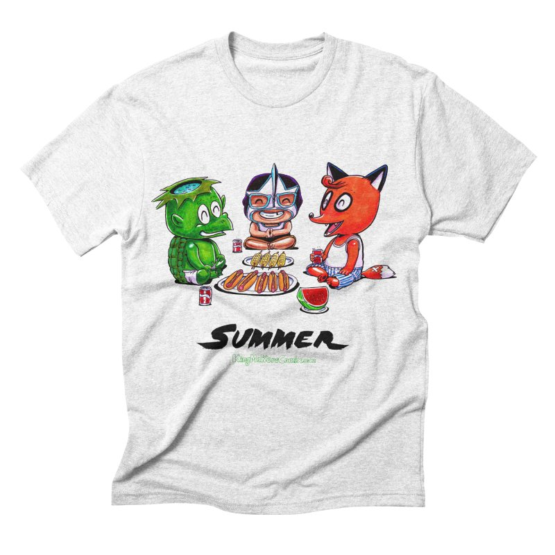 a KingMakers Summer! Men's Triblend T-shirt by KINGMAKERS's Artist Shop