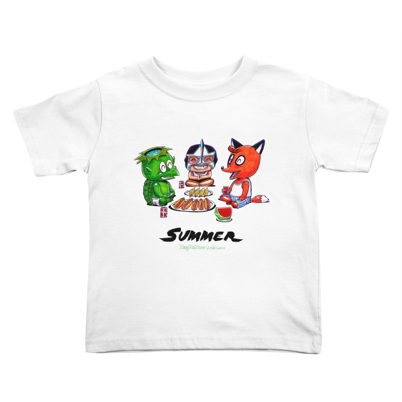 a KingMakers Summer! Kids Toddler T-Shirt by KINGMAKERS's Artist Shop