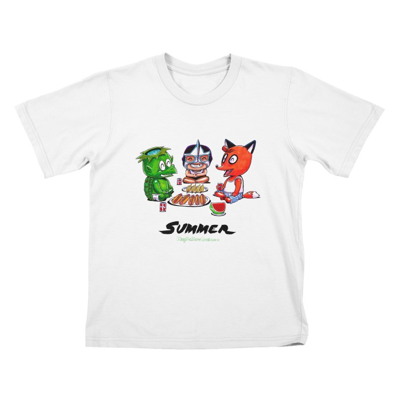 a KingMakers Summer! Kids T-Shirt by KINGMAKERS's Artist Shop