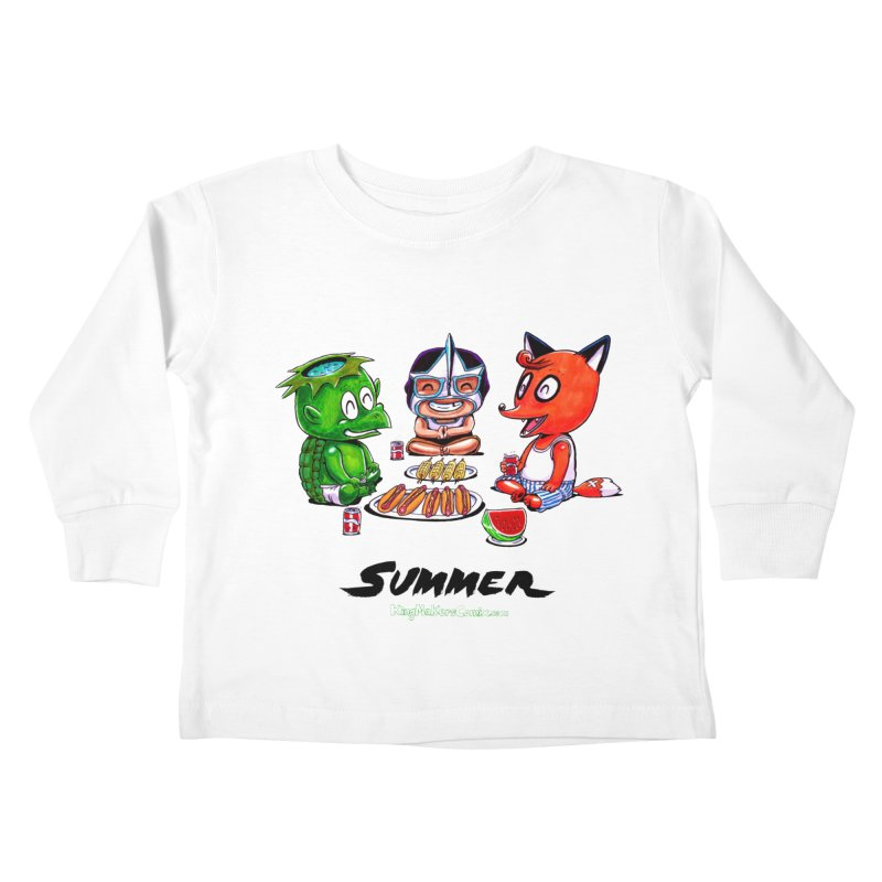 a KingMakers Summer! Kids Toddler Longsleeve T-Shirt by KINGMAKERS's Artist Shop