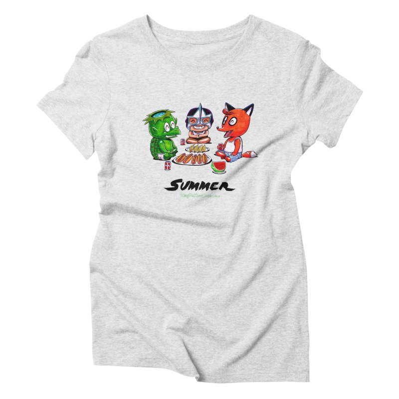 a KingMakers Summer! Women's Triblend T-shirt by KINGMAKERS's Artist Shop