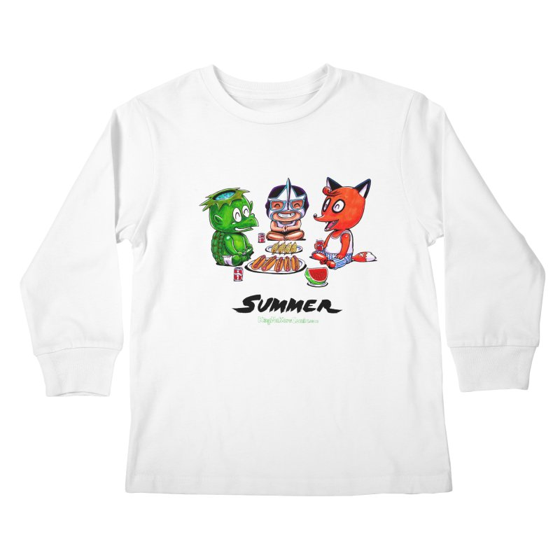 a KingMakers Summer! Kids Longsleeve T-Shirt by KINGMAKERS's Artist Shop