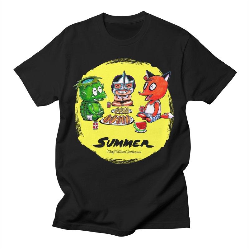 KingMakers Summer sun Men's T-Shirt by KINGMAKERS's Artist Shop