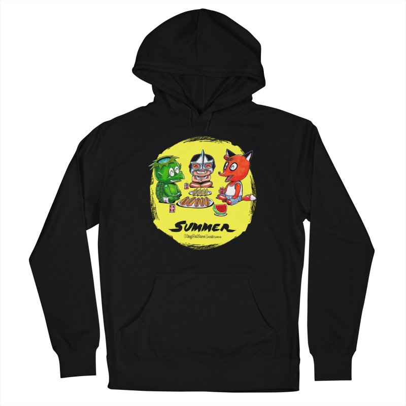 KingMakers Summer sun Men's French Terry Pullover Hoody by KINGMAKERS's Artist Shop