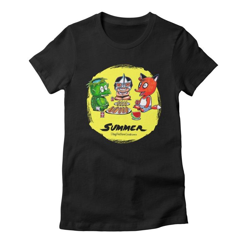 KingMakers Summer sun Women's T-Shirt by KINGMAKERS's Artist Shop