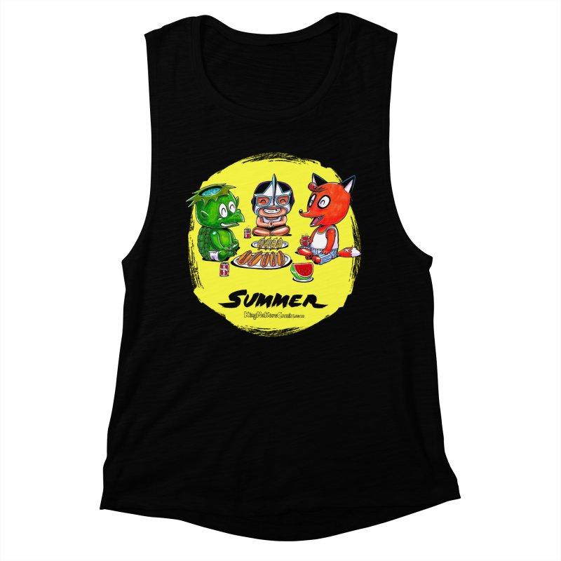 KingMakers Summer sun Women's Muscle Tank by KINGMAKERS's Artist Shop