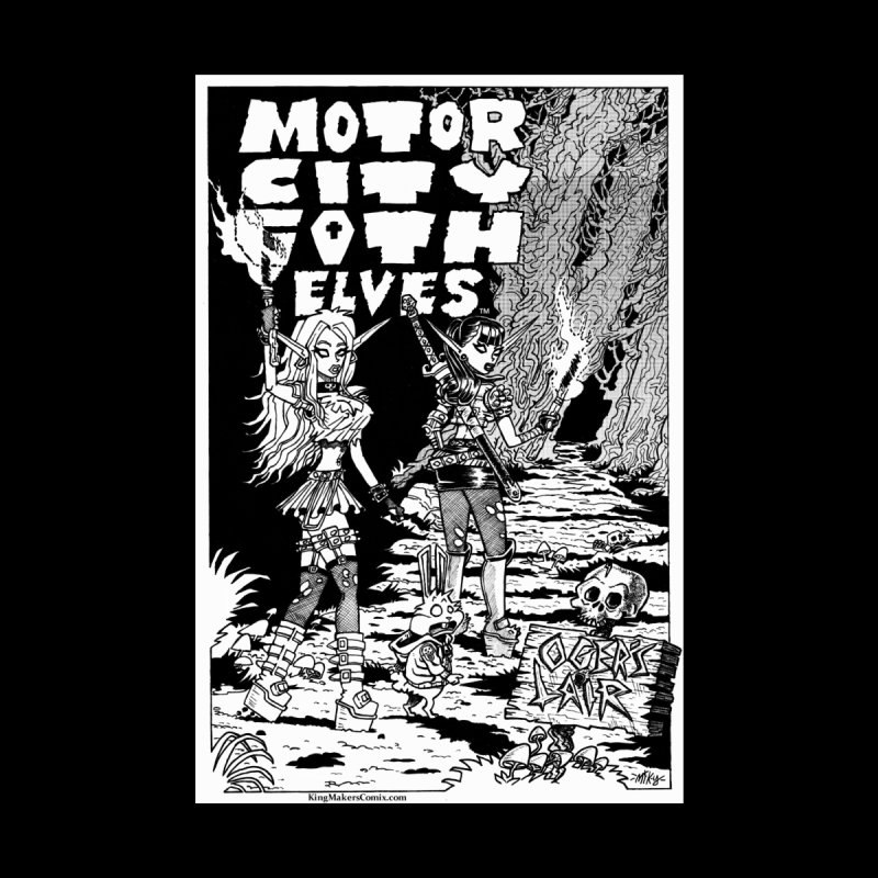 Motor City Goth Elves by KINGMAKERS's Artist Shop