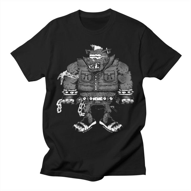 Warhog grey Women's T-Shirt by KINGMAKERS's Artist Shop