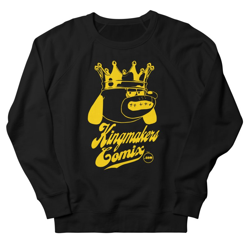 KingMakersComix Gold Men's Sweatshirt by KINGMAKERS's Artist Shop