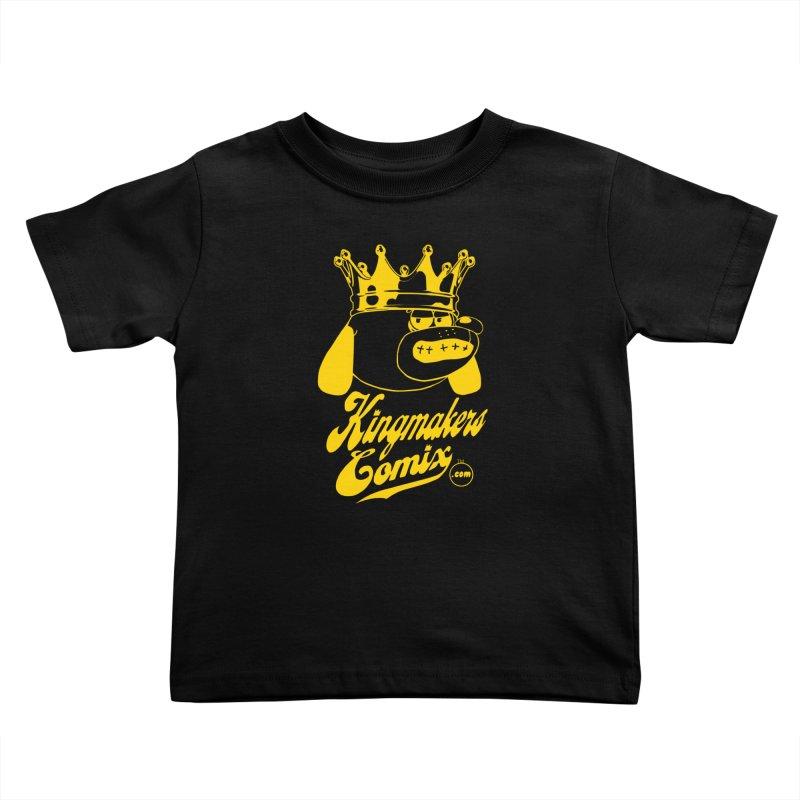 KingMakersComix Gold Kids Toddler T-Shirt by KINGMAKERS's Artist Shop