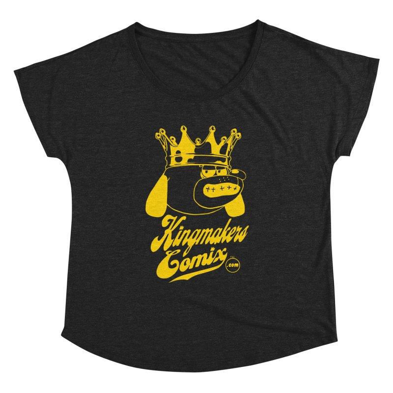 KingMakersComix Gold Women's Dolman by KINGMAKERS's Artist Shop