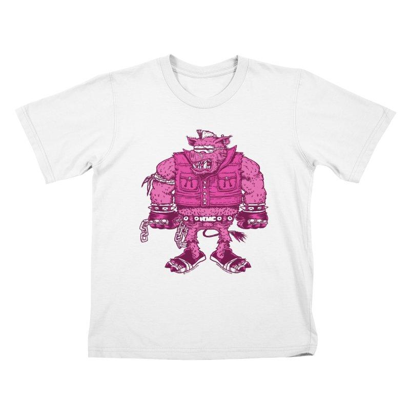 Warhog Kids T-Shirt by KINGMAKERS's Artist Shop