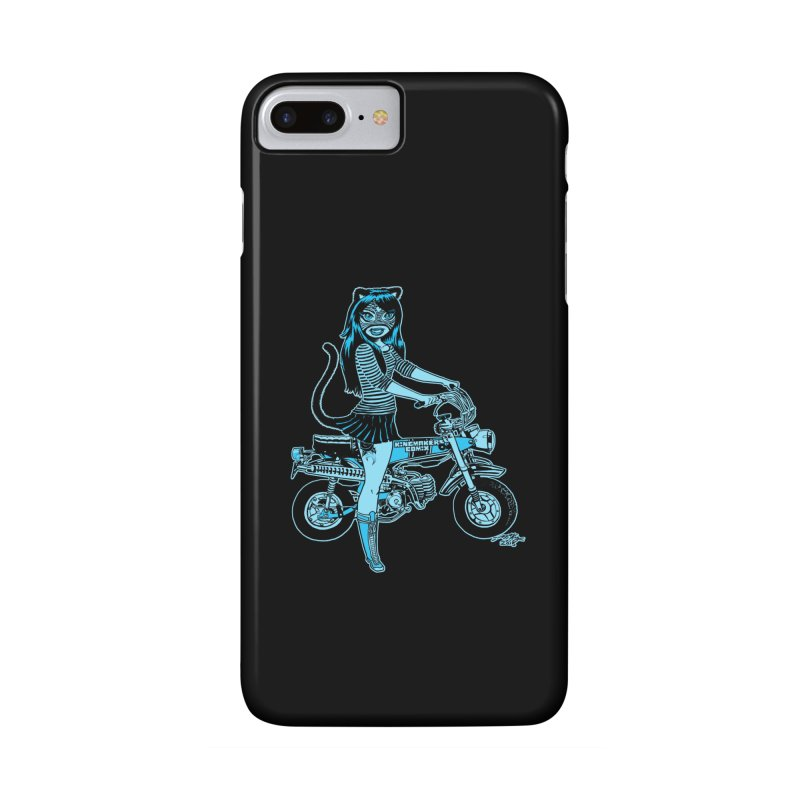 Lucha Biker Black Accessories Phone Case by KINGMAKERS's Artist Shop