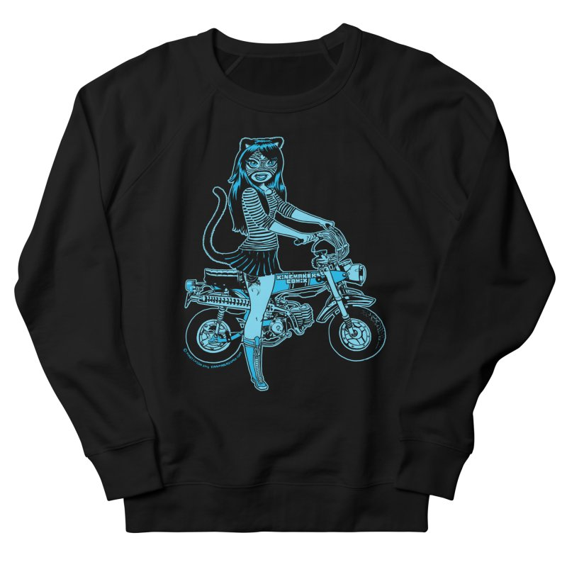 Lucha Biker Black Men's Sweatshirt by KINGMAKERS's Artist Shop