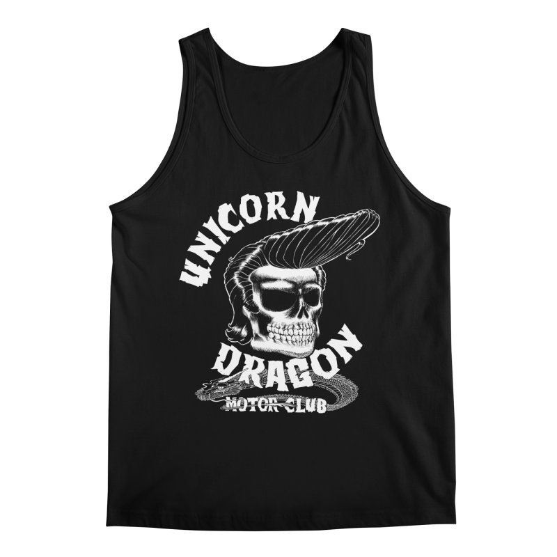 Unicorn Dragon Motor Club Men's Tank by KINGMAKERS's Artist Shop