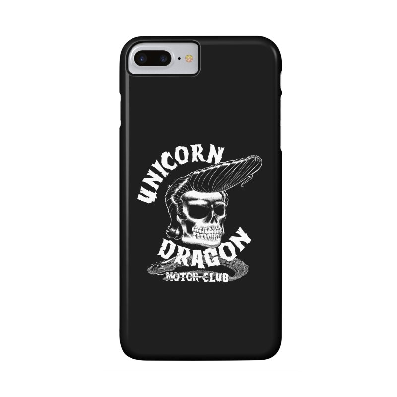 Unicorn Dragon Motor Club Accessories Phone Case by KINGMAKERS's Artist Shop