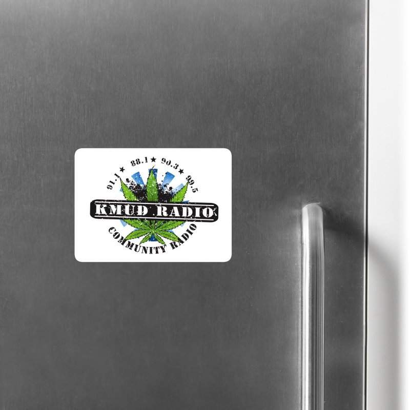 Cannabis Accessories Magnet by Redwood Community Radio