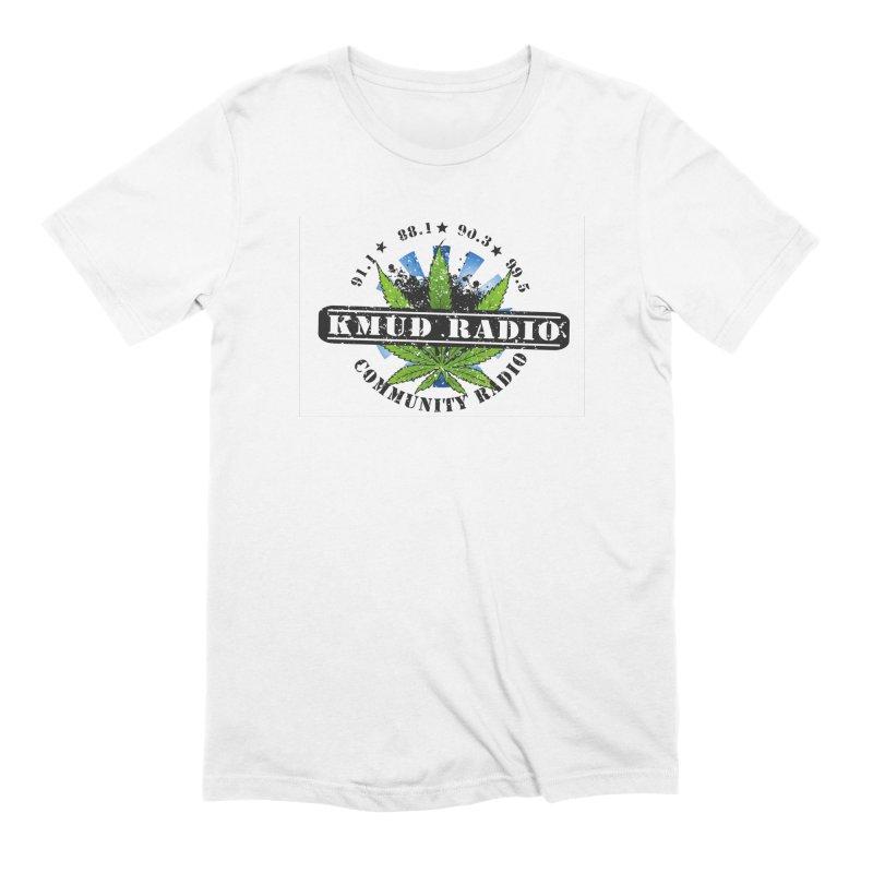 Cannabis Men's T-Shirt by Redwood Community Radio