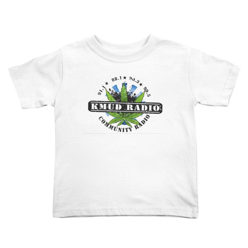 Cannabis Kids Toddler T-Shirt by Redwood Community Radio