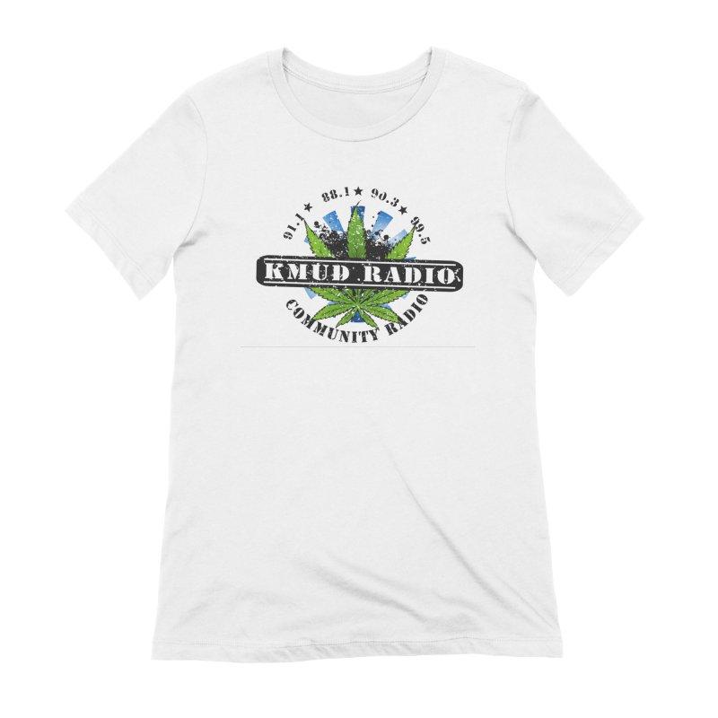 Cannabis Women's T-Shirt by Redwood Community Radio