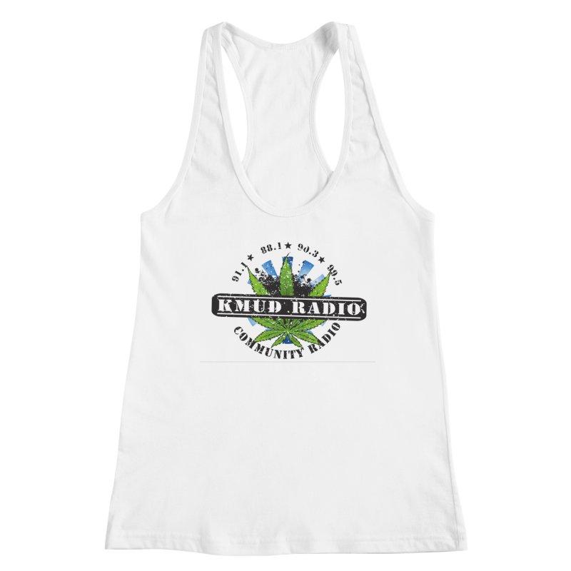 Cannabis Women's Tank by Redwood Community Radio