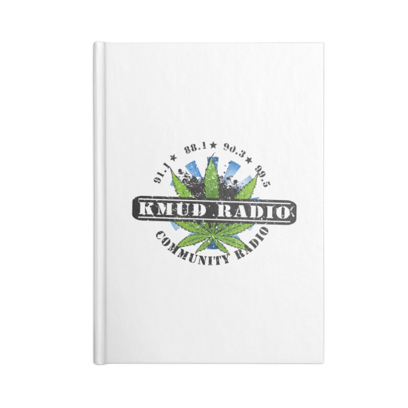 Cannabis Accessories Notebook by Redwood Community Radio