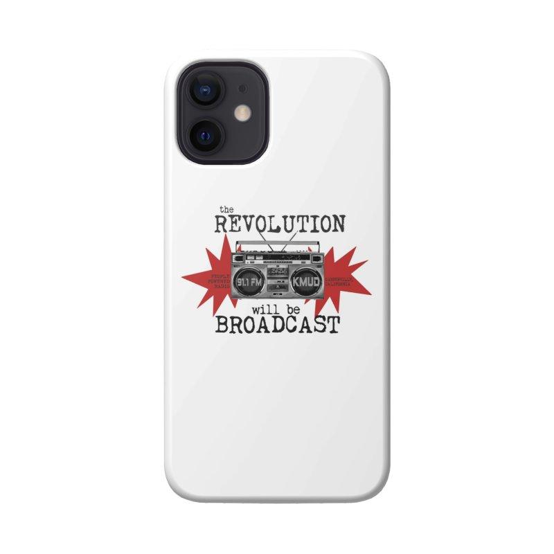 Boombox Revolution Accessories Phone Case by Redwood Community Radio