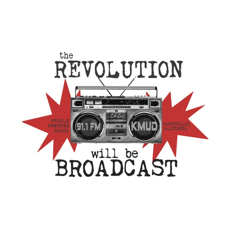 Boombox Revolution Men's T-Shirt by Redwood Community Radio