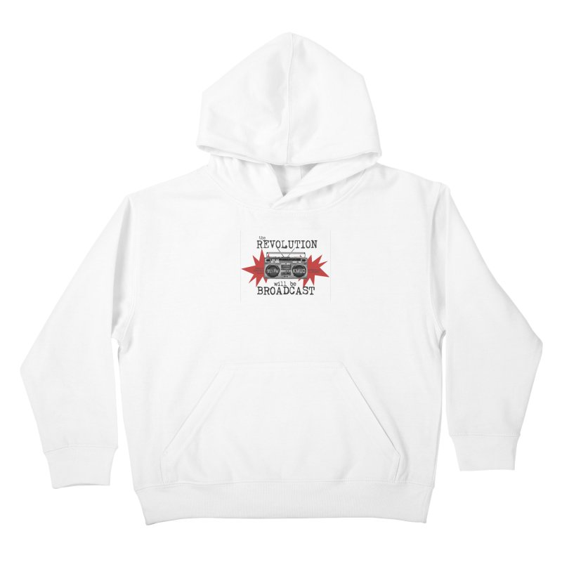 Boombox Revolution Kids Pullover Hoody by Redwood Community Radio