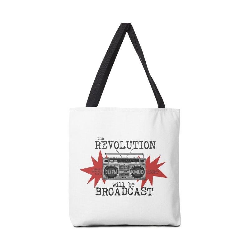 Boombox Revolution Accessories Bag by Redwood Community Radio