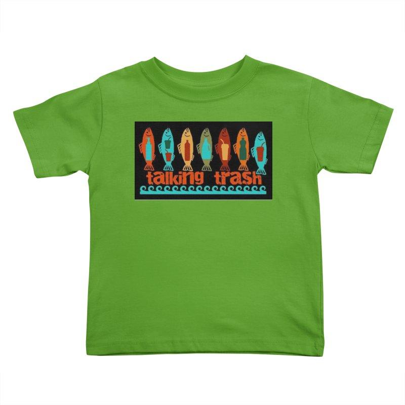Talking Trash Kids Toddler T-Shirt by Redwood Community Radio