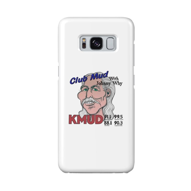 Club Mud with Johnny Why Accessories Phone Case by Redwood Community Radio