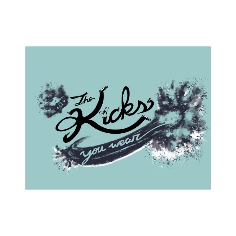KYW x 100 Miles n Runnin' Boxed Kids Baby Bodysuit by KYW's Artist Shop