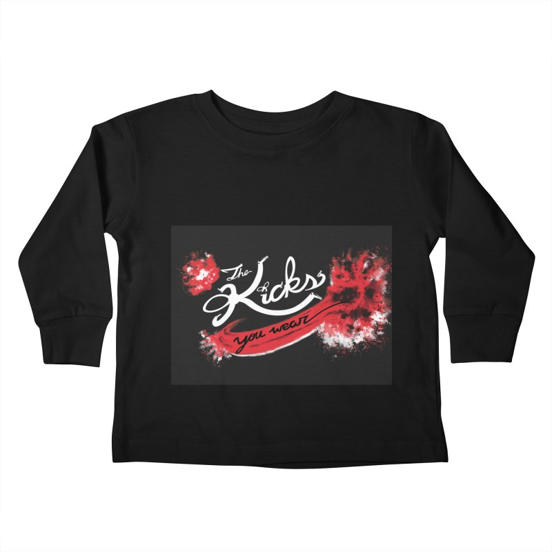 Boxed Bred x KYW Kids Toddler Longsleeve T-Shirt by KYW's Artist Shop