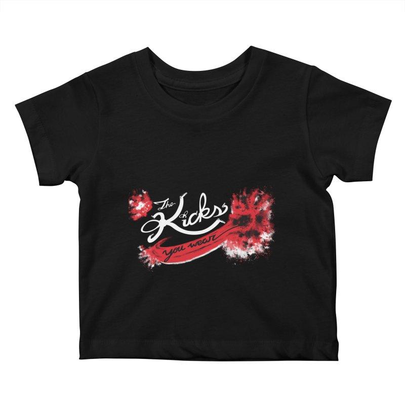 Bred x KYW Kids Baby T-Shirt by KYW's Artist Shop