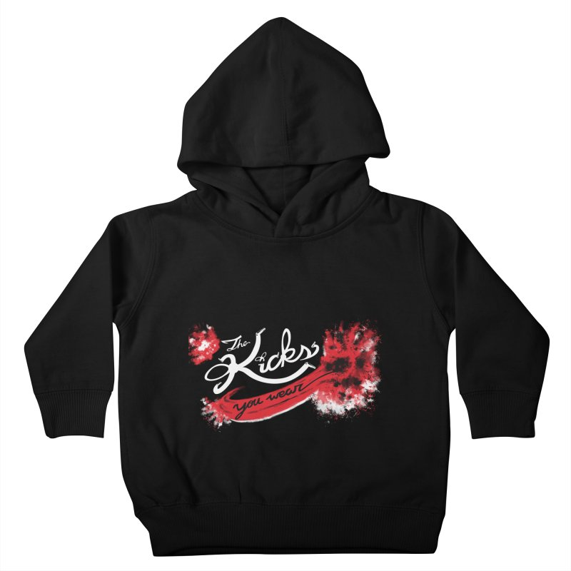 Bred x KYW Kids Toddler Pullover Hoody by KYW's Artist Shop