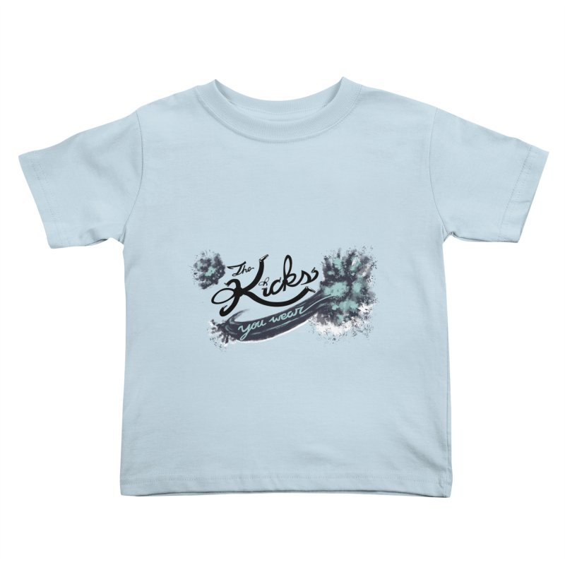 KYW x 100 Miles n Runnin' Kids Toddler T-Shirt by KYW's Artist Shop