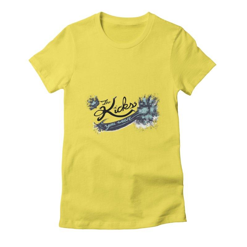 KYW x 100 Miles n Runnin' Women's T-Shirt by KYW's Artist Shop