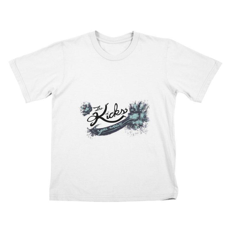 KYW x 100 Miles n Runnin' Kids T-Shirt by KYW's Artist Shop
