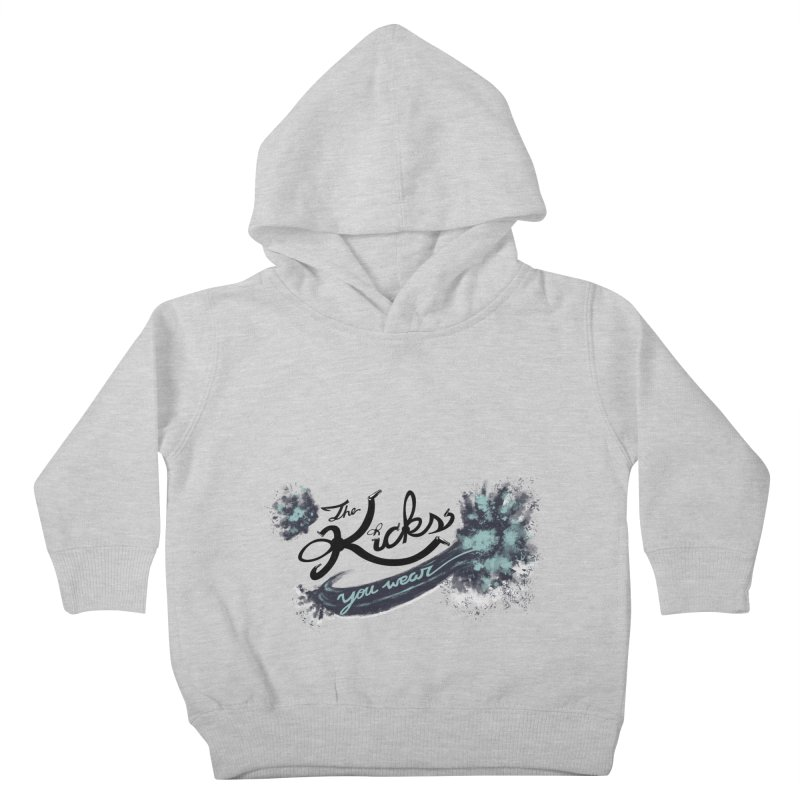 KYW x 100 Miles n Runnin' Kids Toddler Pullover Hoody by KYW's Artist Shop