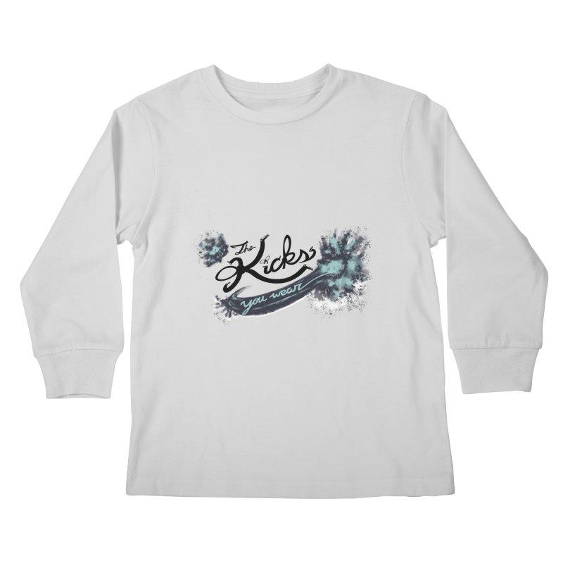 KYW x 100 Miles n Runnin' Kids Longsleeve T-Shirt by KYW's Artist Shop