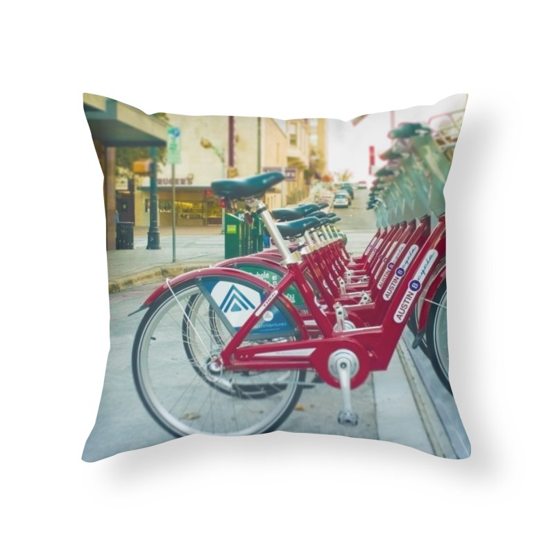 Cycle Atx Home Throw Pillow by Kamaukai's Artist Shop