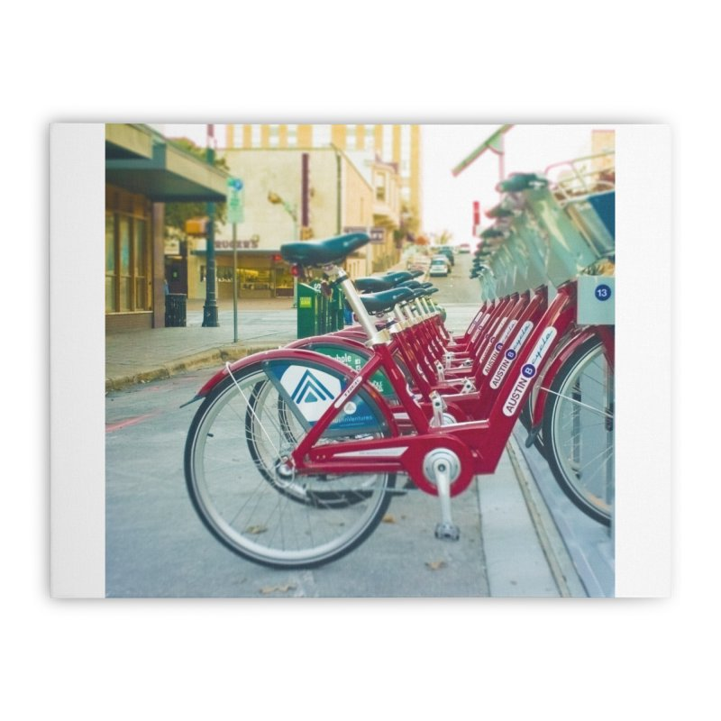 Cycle Atx Home Stretched Canvas by Kamaukai's Artist Shop