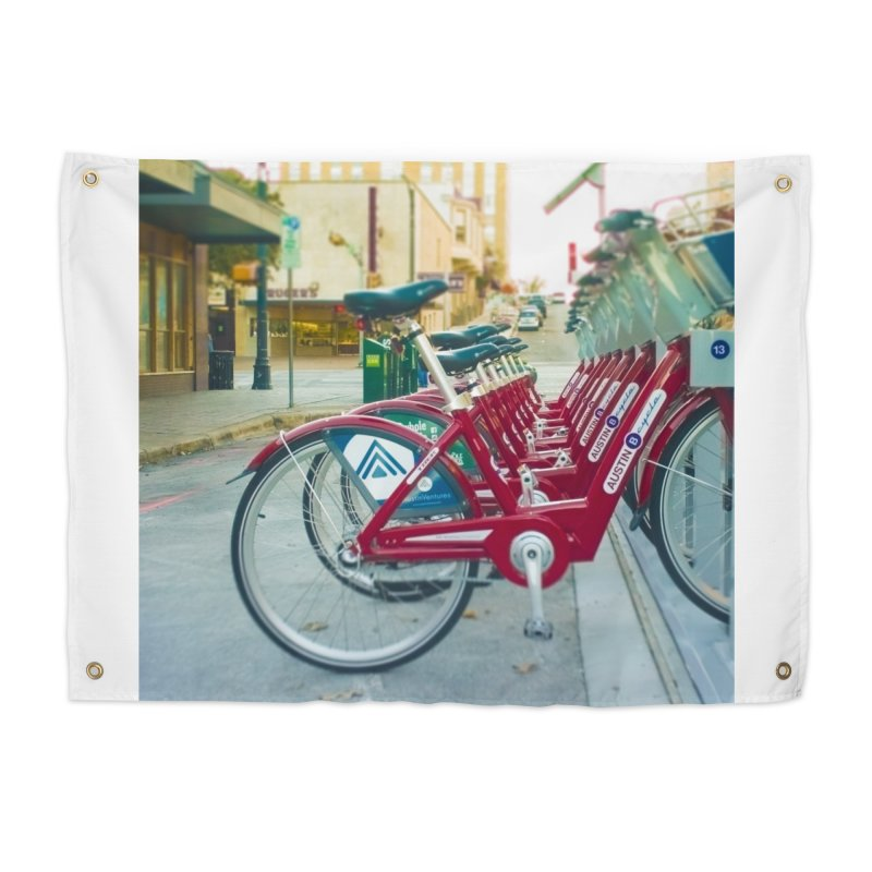 Cycle Atx Home Tapestry by Kamaukai's Artist Shop