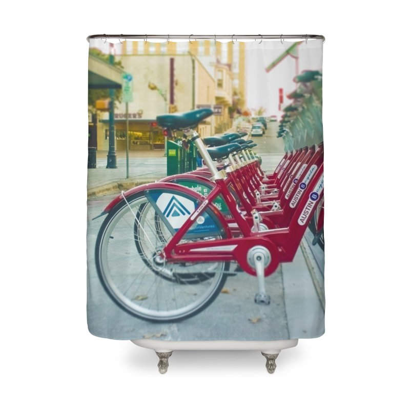 Cycle Atx Home Shower Curtain by Kamaukai's Artist Shop
