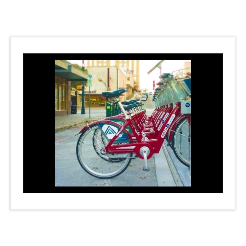 Cycle Atx Home Fine Art Print by Kamaukai's Artist Shop