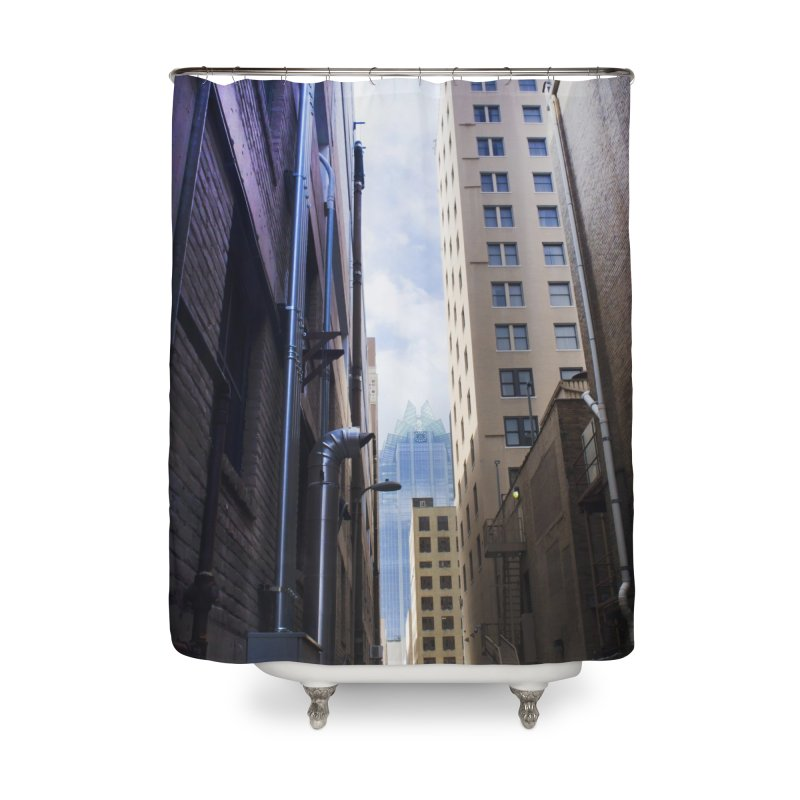Alley Atx Home Shower Curtain by Kamaukai's Artist Shop